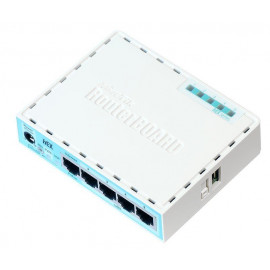 Mikrotik router RB750GR3 HEX ( 5 x GbE)