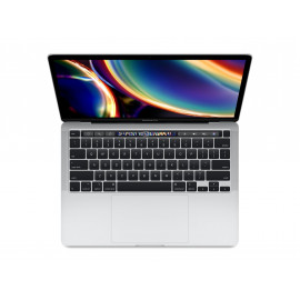 Apple 13-inch MacBook Pro with Touch Bar: 2.0GHz quad-core 10th-generation Intel Core i5 processor, 512GB Silver - MWP72ZE/A