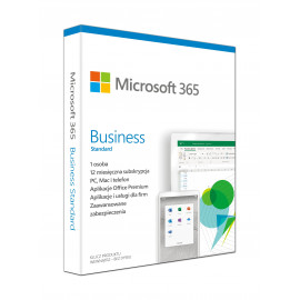 Microsoft 365 Business Standard Retail PL EuroZone Subscr