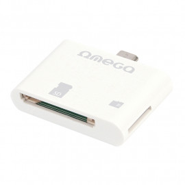 OMEGA CARD READER SDHC/microSDHC for ANDROID [41870]