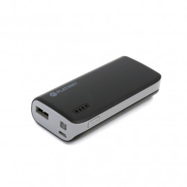 PLATINET POWER BANK 4400mAh + microUSB cable + torch BLACK/GRAY [42912] EOL